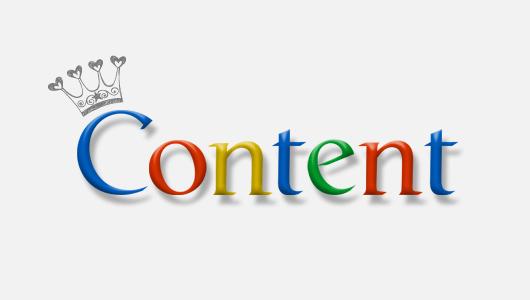Nội dung là yếu tố đầu tiên ảnh hưởng đến thứ hạng website