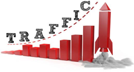 Traffic tốt sẽ khiến website của bạn lên top nhanh và ổn định
