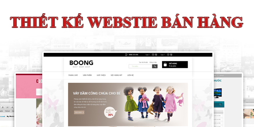 Image result for tạo website bán hàng