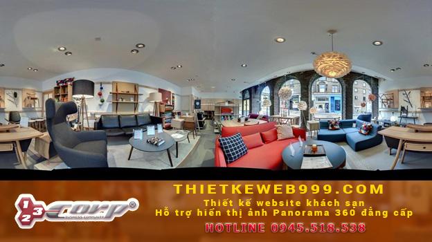 ảnh Panorama 360 Lấy hết toàn bộ chi tiết trong một khung hình
