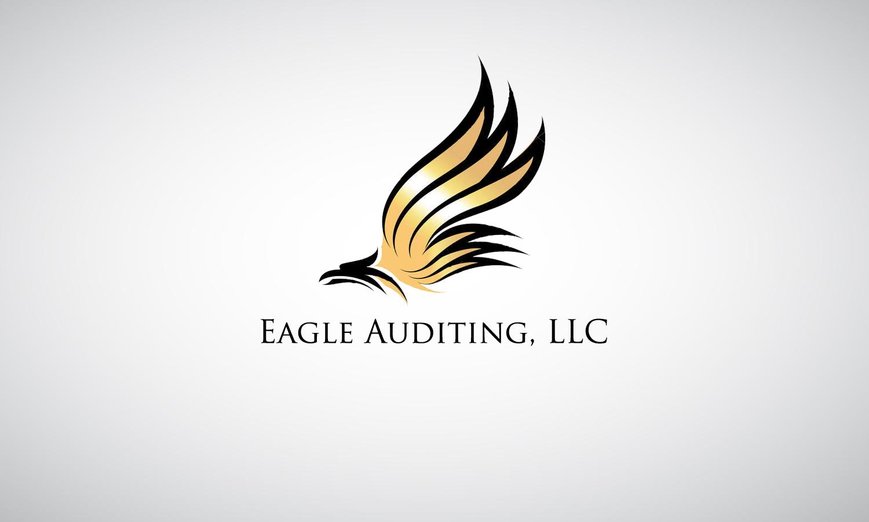 Thiết kế logo ấn tượng hình cánh chim đại bàng vươn cao