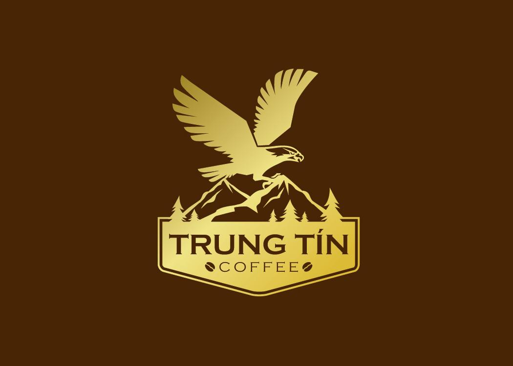 logo đại bàng của cà phê Trung tín