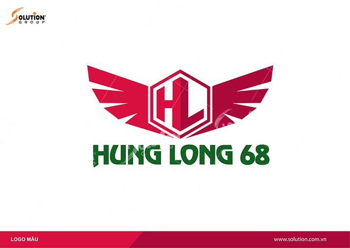 logo đại bàng của Hưng Long 68