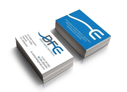 Logo cơ khí trên namecard