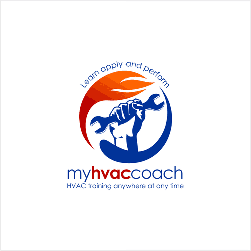 Mẫu logo cơ khí đẹp 3 màu