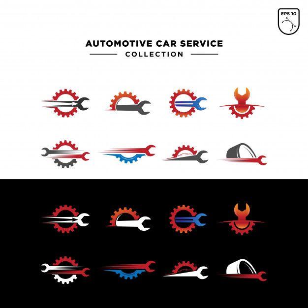 Mẫu logo cơ khí đẹp phối nhiều màu