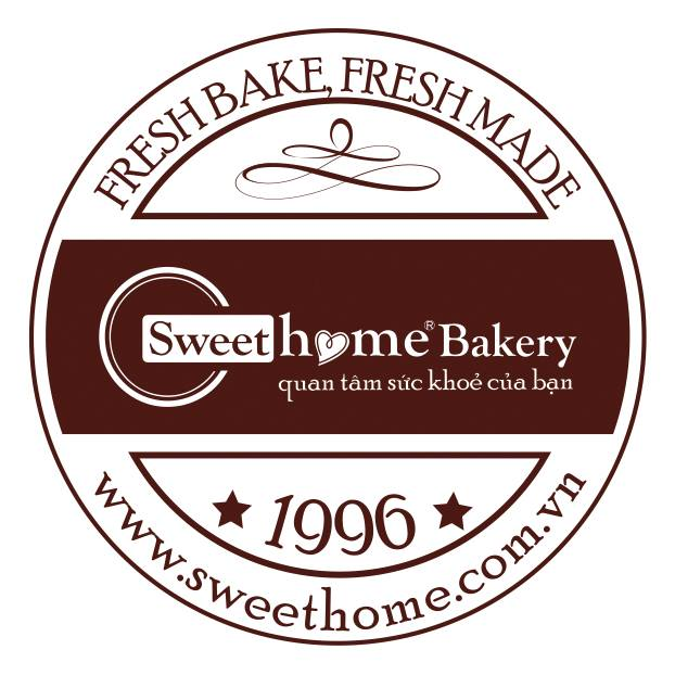 logo bánh Sweet home bakery
