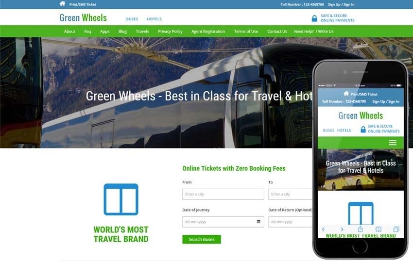 T ng h p 10 m u website gi i thi u d ch v du l ch for Best travel booking website