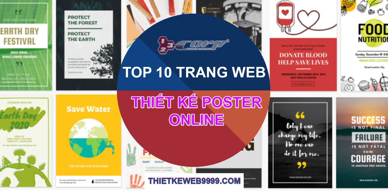 Điểm mặt top 10 trang web thiết kế poster online cực ngầu