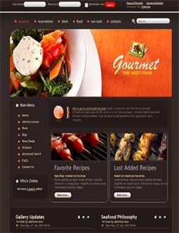 thiet ke web nha hang, thiết kế web nhà hàng