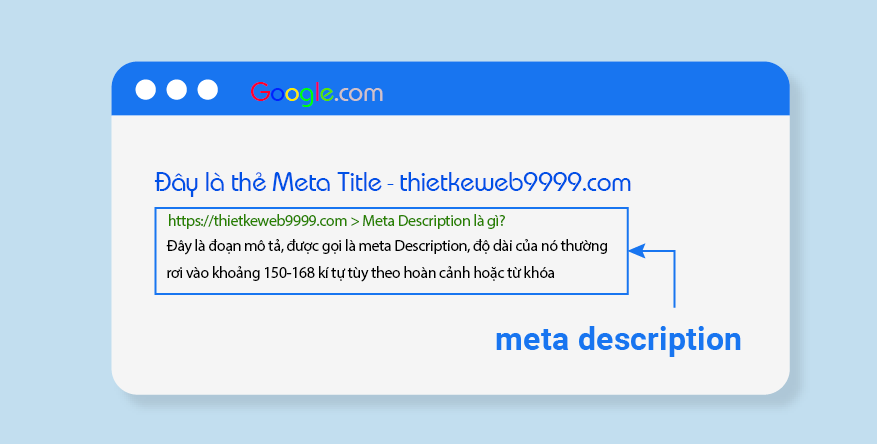 Meta description là gì? Thẻ description dài bao nhiêu kí tự?