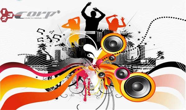 Thiết kế web âm nhạc
