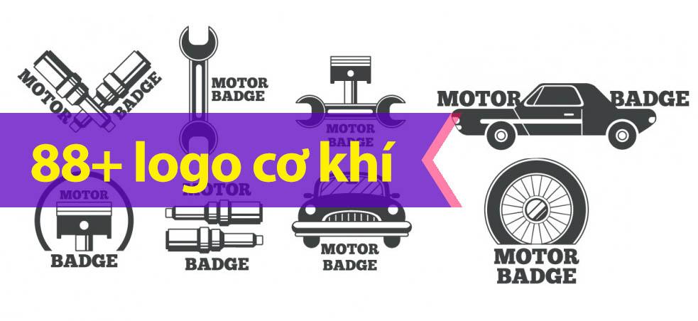 Một số mẫu logo đẹp ngành cơ khí
