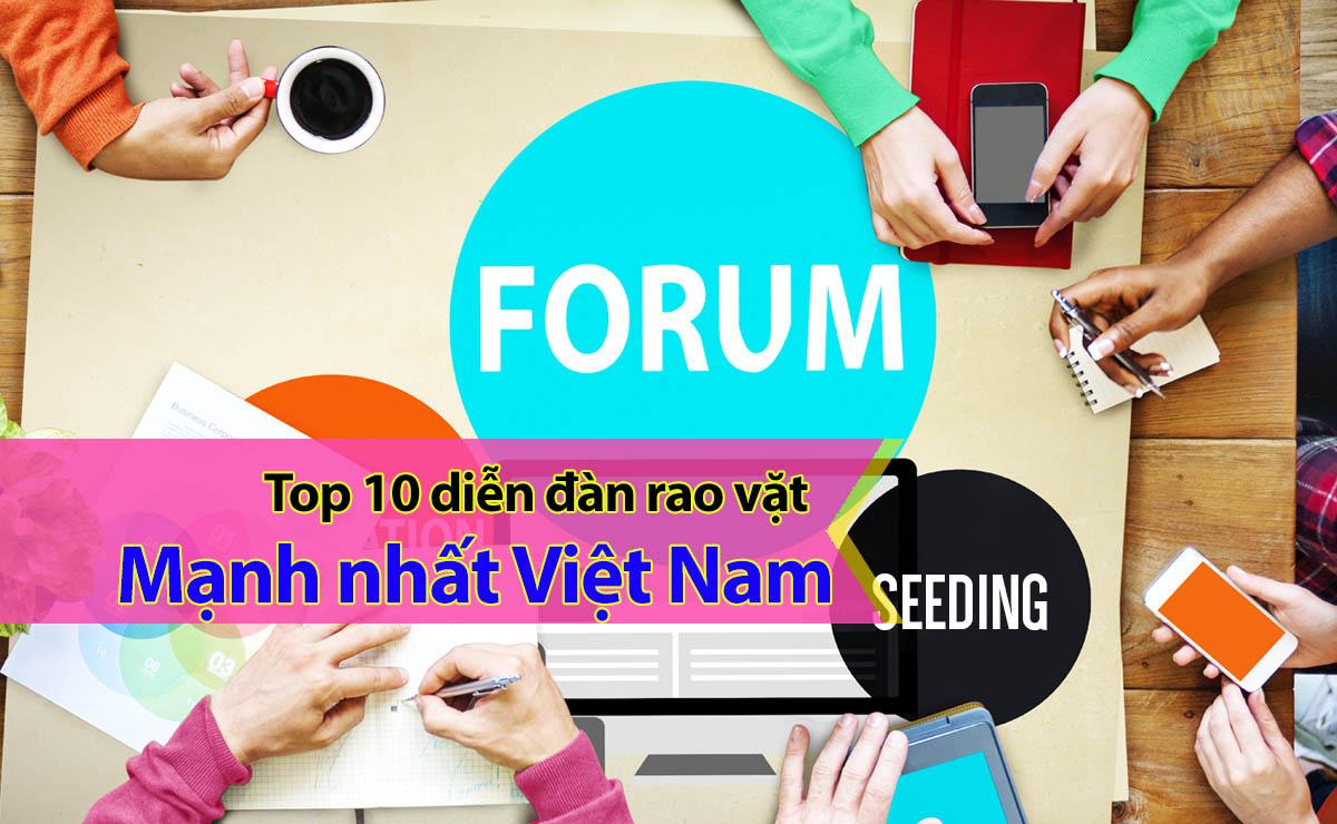 Top 10 diễn đàn rao vặt mạnh nhất tại Việt Nam hiện nay