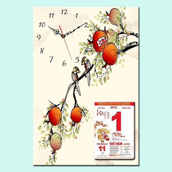 cách làm bìa lịch treo tường | Món Miền Trung