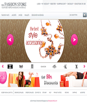 Website Thời Trang The Fashion Store