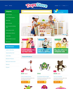 Website Thời Trang Toys Store