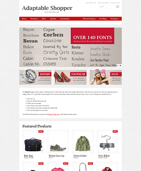 Website Thời Trang Adaptable Shopper