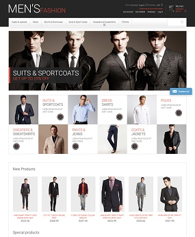Website Thời Trang Men's Fashion